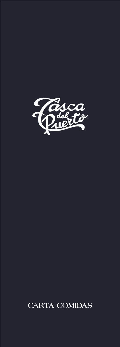 Carta de Comidas Tasca del Puerto